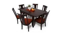 Big 6 seater dining table