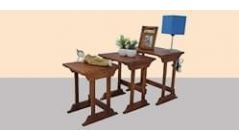 Wooden Nest of Table Set Online in Pune