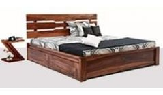 Buy wooden beds with storage online in mumbai