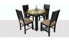 Dining Set 4 Seater