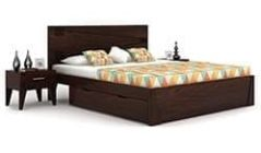 Buy a King size bed for luxurious feeling online in Mumbai, Pune, Bangalore