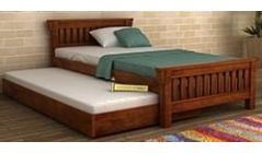 buy twin trundle bed online india