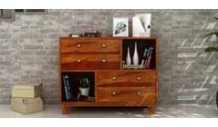 utility wooden chest of drawers
