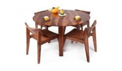 Buy Round dining table set in Pune, India
