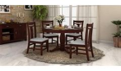 Wooden Round Dining Sets Online in Ahmedabad, India