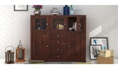 wooden dining cabinet