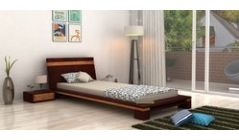 solid wood single beds