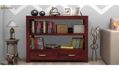 Solid Wood bookshelves online in Jaipur