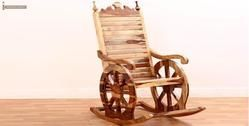 Buy Solid Wood Rocker Chair Online India