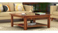 Buy Wooden Coffee Table Online in Delhi India