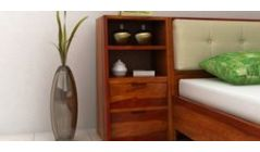 buy bedside table online with storage