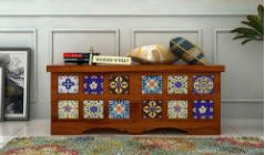 wooden trunk box for sale