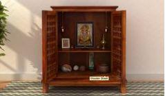 Wooden Temple : Buy Pooja Mandir for Home @ Wooden Street
