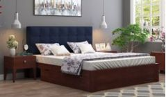 fabric upholstered beds online