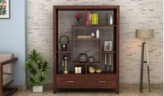 Buy wooden display units in Bangalore