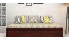 wooden divan online shopping