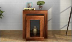 wooden display units online