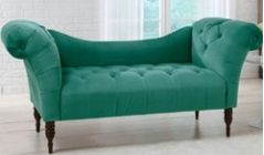 tufted chaise lounge couch