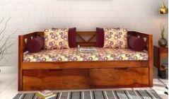 Divan bed buy diwan bed online in india upto 60 off for Old diwan bed
