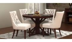 Round dining table sets online in Bangalore