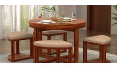 Wooden Round Dining Sets Online in Jaipur India