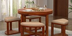 Wooden Round Dining Sets Online