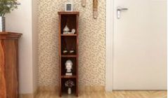 Wooden display units & display cabinet for small space in India