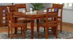 Round 4 Seater Dining table Set
