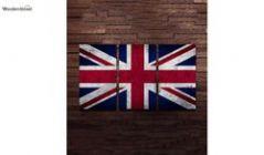 British Flag Wall Hanging