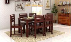 Sheesham wood 6 seater dining table set online