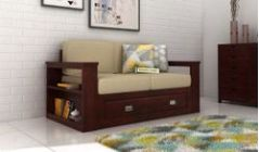 two seater sofa with storage