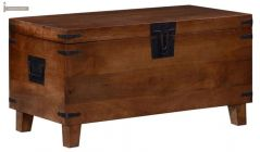 wooden trunk for storage