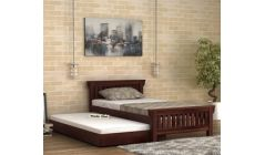 mango wood trundle bed for sale