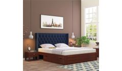 storage upholstered bed India