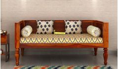 solid wood divan sofa in India