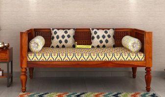 solid wood divan sofa in India