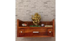 wall mounted temple with drawer
