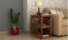 Buy wooden side table & End Tables online Bangalore India