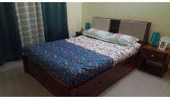 buy wooden bed online