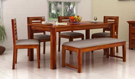 Buy Wooden Dining Room Furniture Online In India