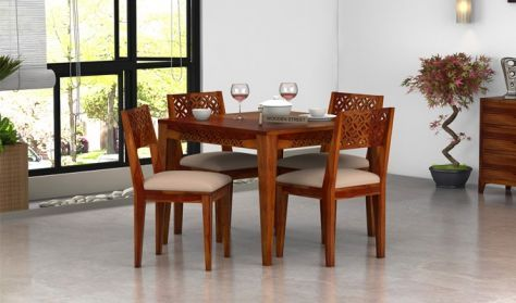 wooden dining set online