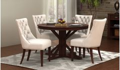 Round Dining Table  Buy Round Shape Dining Table Set Online India