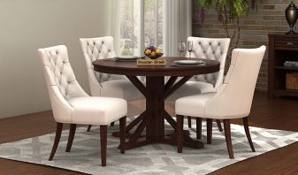 round shape dining table online india