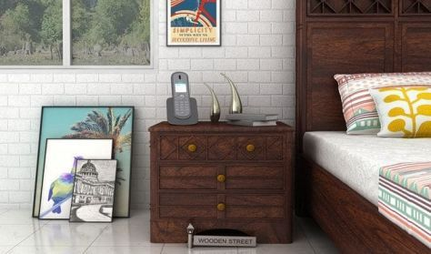 shop wooden furniture for bedroom in India