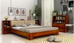 buy double bed with multiple storage online India