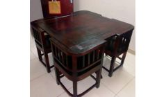 wooden dining table 4 seater