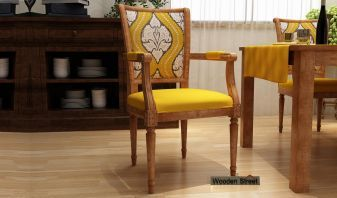 wooden arm chairs for living room