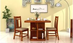 wooden 2 seater dining table online india