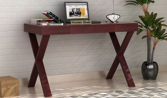 Solid wood computer table online in Jaipur, India