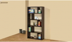 Buy Bookshelf, solid wood Book shelves and book rack online in Bangalore, India